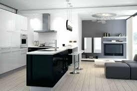 photo de cuisine ouverte sur sejour wonderful exemple cuisine ouverte sejour 14 un loft de plain