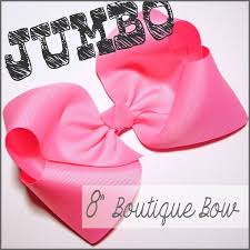 this is one jumbo boutique hair bow for all of you