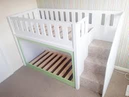 Bunk Cot Bed Low Bunk Beds For Toddlers Diy Low Bunk Beds For Toddlers In