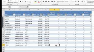 Inventory Template Excel 2010 Cxm Master Inventory And Sales Workbook V1 0 For Excel 2010 Part 2