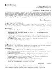 Designer Resume Sample by Fashion Designer Resume Template