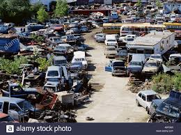 auto junkyard nyc aerial view of automobile scrapyard in willets point in flushing