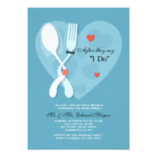 after wedding brunch invitation post wedding invitations announcements zazzle