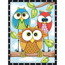 owl trio pencil by number 73 91473 2 simplicity