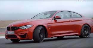 bmw m4 headlights 2018 bmw m4 facelift coupe and cabrio hit the track in official