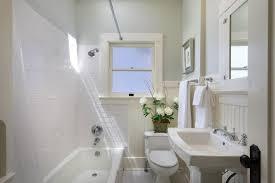 Pedestal Bathroom Sink by Cottage Full Bathroom With Pedestal Sink U0026 Carpet In Santa Barbara