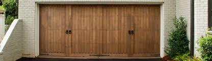 2 Door Garage Custom Wood Garage Door
