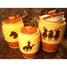 western kitchen canister sets 28 images western dinnerware