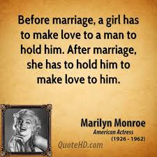 after marriage quotes marilyn marriage quotes quotehd