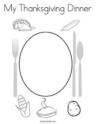 my thanksgiving my thanksgiving dinner coloring page twisty noodle