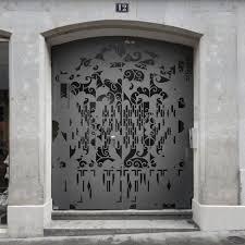 bureau a swiss architects bureau a created decorative steel gates to