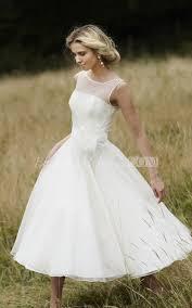 vintage tea length wedding dresses bridalmelissa com