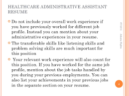 healthcare administrative assistant resume 7