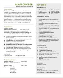 administrative assistant job objective job objective sample 8 examples in word pdf