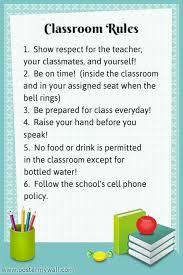 printable instructions classroom printable classroom rules high school classroom rules bulletin