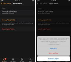 how to unpair and restore the apple watch imore