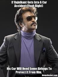 Car Accident Meme - if rajnikant gets into a car accident yeah right create your own
