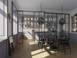 cuisine verriere interieure design interieur cuisine avec verriere interieure suspensions