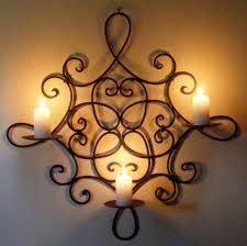 Candle Wall Decor The Relaxing Decoration