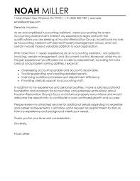 Examples Of Cover Letters For Resume by Best Accounting Assistant Cover Letter Examples Livecareer