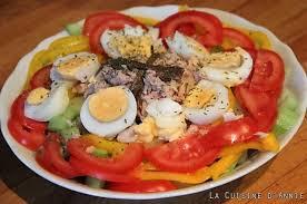 cuisine salade recette salade composée d été la cuisine familiale un plat une