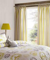 Yellow Stripe Curtains Kitchen Astounding Curtainsgn Curtain Striped Jcpenney Sensational
