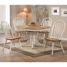 Beautiful Antique White Dining Set Coronado Antique White Double - Round pedestal dining table in antique white