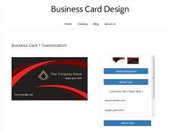 Home Design App Names Business Card Design U2013 Ecommerce Plugins For Online Stores