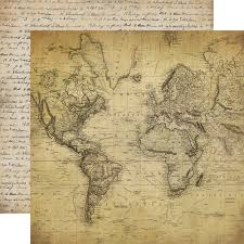Old World Map Collections Echo Park Paper Co Old World Travel
