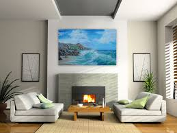 Simple Wall Paintings For Living Room Living Room Art Living Room