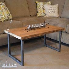 Wood Table With Metal Legs Coffee Table Legs Ebay