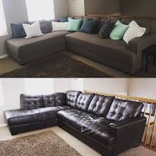 American Leather Sleeper Sofa by Reupholstering A Sectional Sofa Tourdecarroll Com