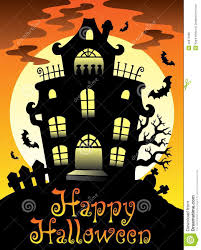 happy halloween theme with moon 2 stock photo image 20871080