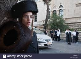 shtreimel for sale a ultra orthodox haredi wears a shtreimel and holds a