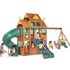 Big Backyard Windale by Wooden Swing Sets Toys