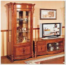 Walnut Wine Cabinet Beethoven Wall Furniture Dining Furniture Traditional By