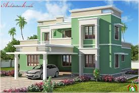 exellent simple house kerala in inspiration
