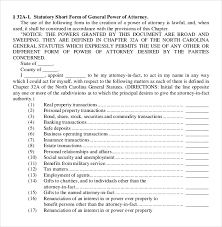 sample general power of attorney form general power of attorney