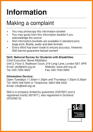 5 formal complaints letter appeal leter