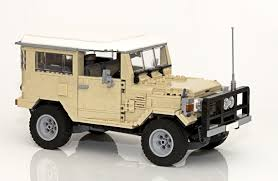 toyota land cruiser lego ideas toyota landcruiser 40 series