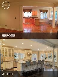 split level kitchen remodel before and after keep home simple our