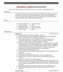 compensation and benefits resume examples human resources