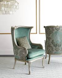 damask chair massoud silver damask chair