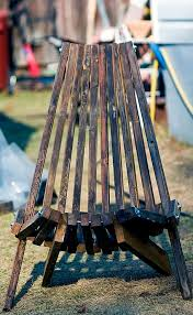 folding cedar lawn chair 7 steps with pictures