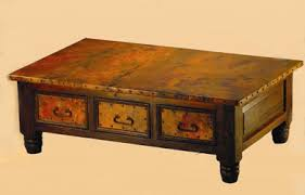 Tuscan Coffee Table Copper Coffee Tables Custom Copper Coffee Tables For Sale
