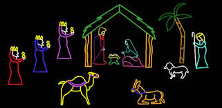 Outdoor Lighted Nativity Set - full nativity scene led christmas pinterest christmas lights
