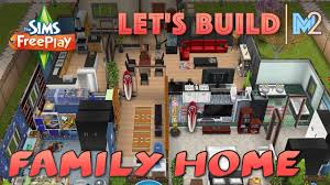 sims freeplay let u0027s build a family home live build tutorial