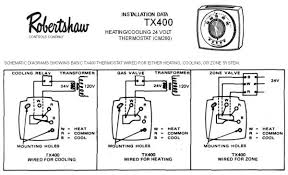 robertshaw 9520 thermostat wiring diagram wiring diagram and