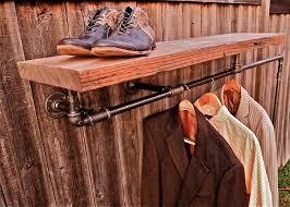 industrial wall coat racks steel industrial coat rack vintage