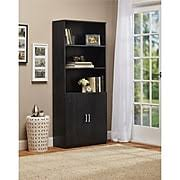 Small Bookcase With Doors Bookcases U0026 Bookshelves Find Bookshelf Deals Staples